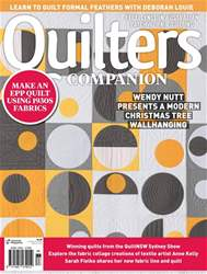 Quilters Companion issue Issue#88 2017