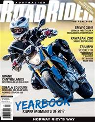 Australian Road Rider issue Issue#141 Nov 2017