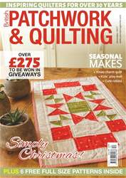 Patchwork and Quilting issue December 2017