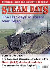 Steam Days Magazine Cover