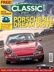 Classic & Sports Car issue December 2017