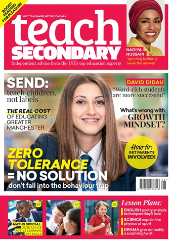 Teach Secondary issue Vol.6 No.8