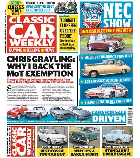 Classic Car Weekly Preview