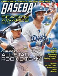 Baseball Digest issue Nov/Dec 2017