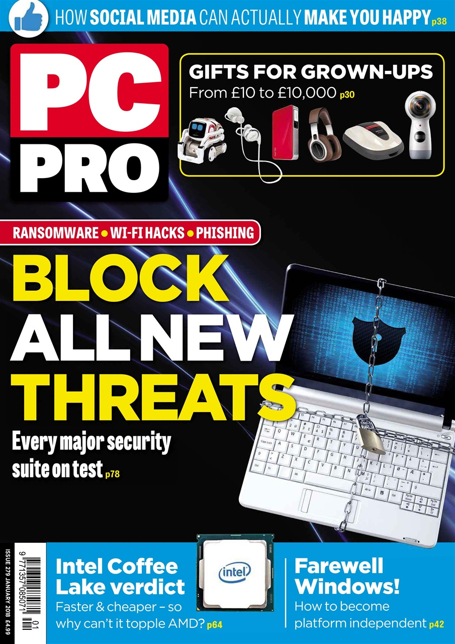 PC Pro magazine leads the way for exclusive reviews, ensuring that its readers are continually up-to-date with the latest products and technology trends. Subscribe to PC Pro today with 3 issues for £1.