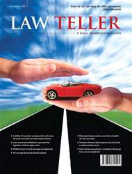 Lawteller – A Legal Awareness Magazine issue November 2017