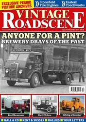 Vintage Roadscene Magazine Cover