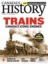 Canada's History issue Dec17/Jan18