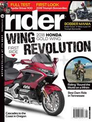 Rider Magazine issue January 2018