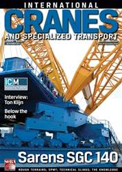 Int. Cranes & Specialized Transp Magazine Cover