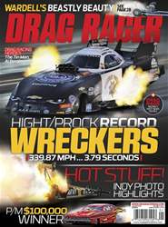 Drag Racer issue January 2018
