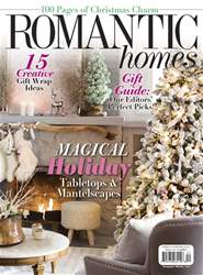 Romantic Homes issue December 2017