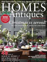 Homes & Antiques Magazine issue December 2017