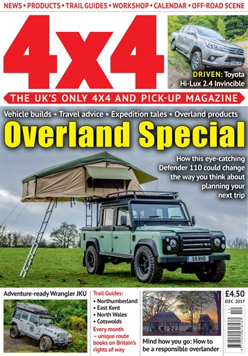 4x4 magazine incorporating total off road december 2017 subscriptions pocketmags. Black Bedroom Furniture Sets. Home Design Ideas