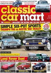 Classic Car Mart issue January 2018