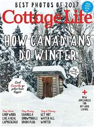 Cottage Life issue Winter 2017