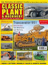 Classic Plant & Machinery issue December 2017