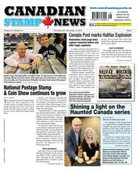 Canadian Stamp News issue V42#16 - November 28