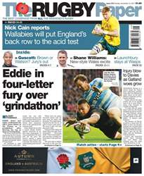 The Rugby Paper issue 12th November 2017