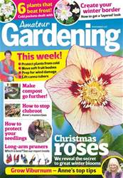 Amateur Gardening Magazine Cover