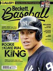Beckett Baseball issue December 2017