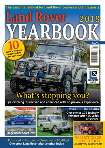 4x4 magazine incorporating total off road land rover yearbook 2018 subscriptions pocketmags. Black Bedroom Furniture Sets. Home Design Ideas