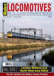Modern Locomotives Illustrated Magazine Cover