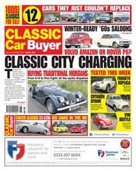 Classic Car Buyer issue 15 November 2017