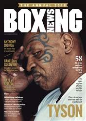 Boxing News issue Boxing News Annual 2018