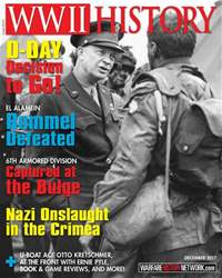 WW2 History Magazine issue December 2017