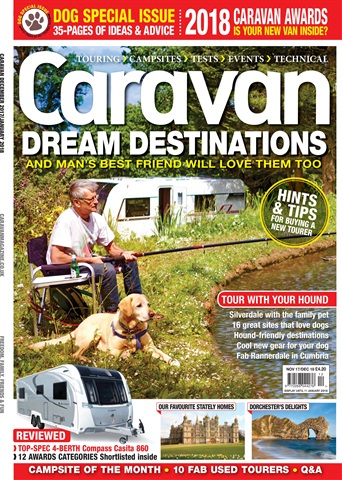 Caravan Magazine issue Caravan | DOG SPECIAL ISSUE | Dream Destinations - December 17