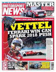 Motorsport News issue 15th November 2017