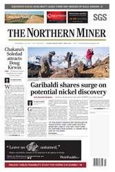 The Northern Miner issue Vol. 103 No. 23