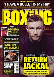 Boxing News issue 14/11/2017
