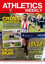 Athletics Weekly issue Nov 16, 2017