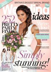Wedding Ideas magazine issue January 2018