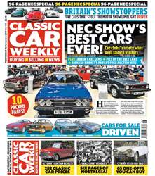 Classic Car Weekly issue 15th November 2017