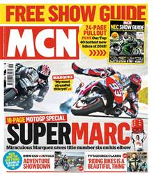 MCN issue 15th November 2017