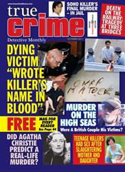True Crime October 2017 issue True Crime October 2017
