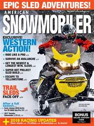 American Snowmobiler issue January 2018