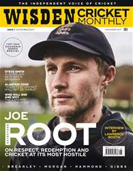 Wisden Cricket Monthly Magazine Cover