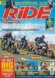 Ride issue January 2018