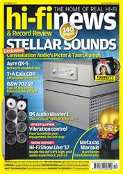 Hi-Fi News issue December 2017