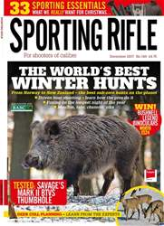 Sporting Rifle issue December 2017