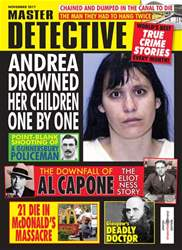 Master Detective November 2017 issue Master Detective November 2017