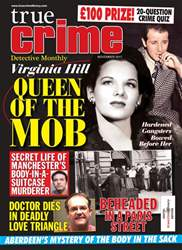 True Crime November 2017 issue True Crime November 2017