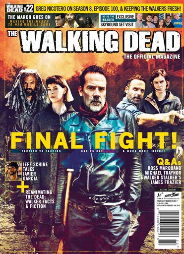 The Walking Dead Magazine Preview