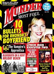 Murder Most Foul No. 105 issue Murder Most Foul No. 105