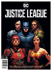 Justice League Magazine Cover