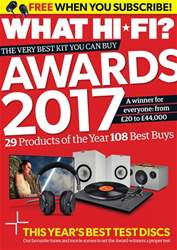 What HiFi issue Awards 2017